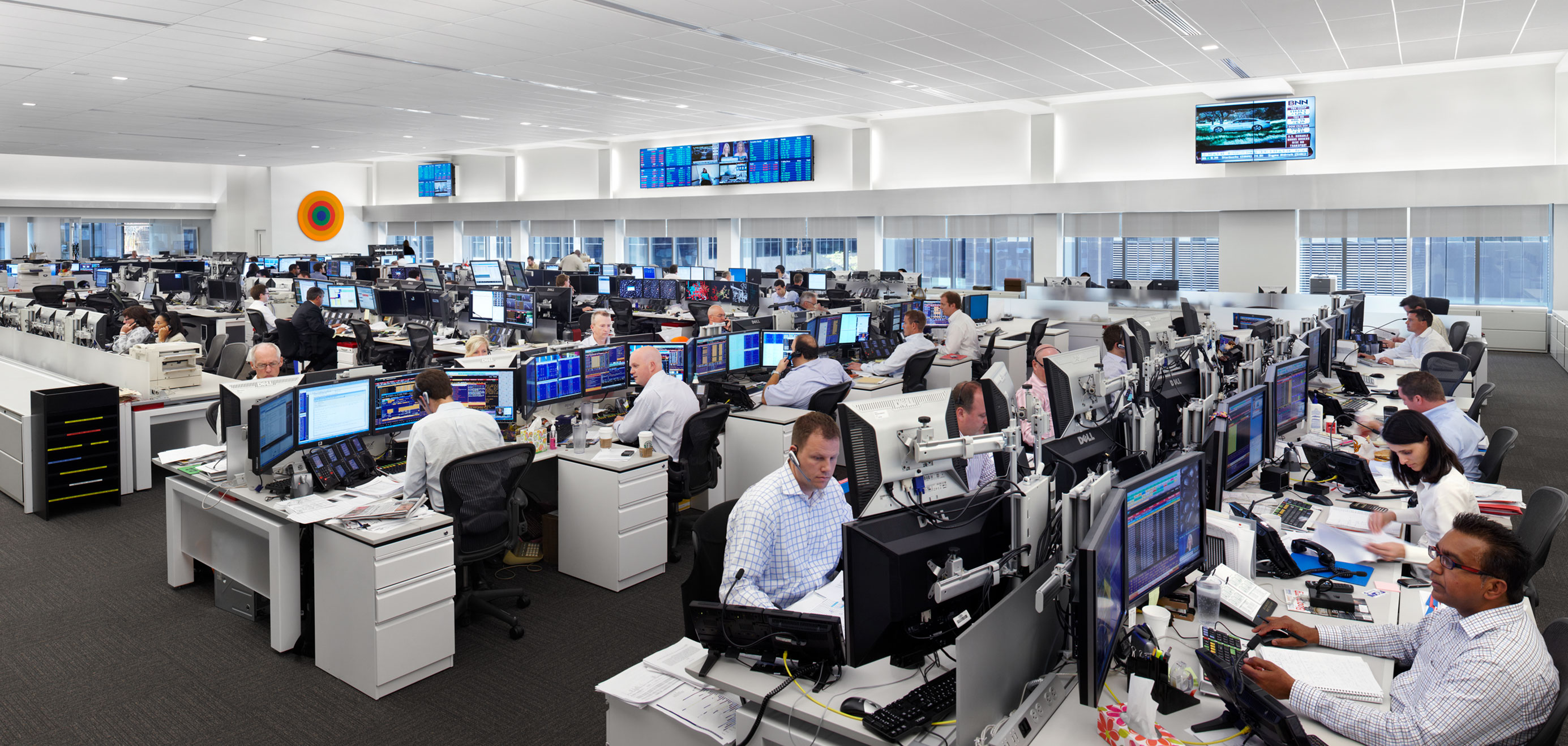 National Bank Trading Floor | WZMH