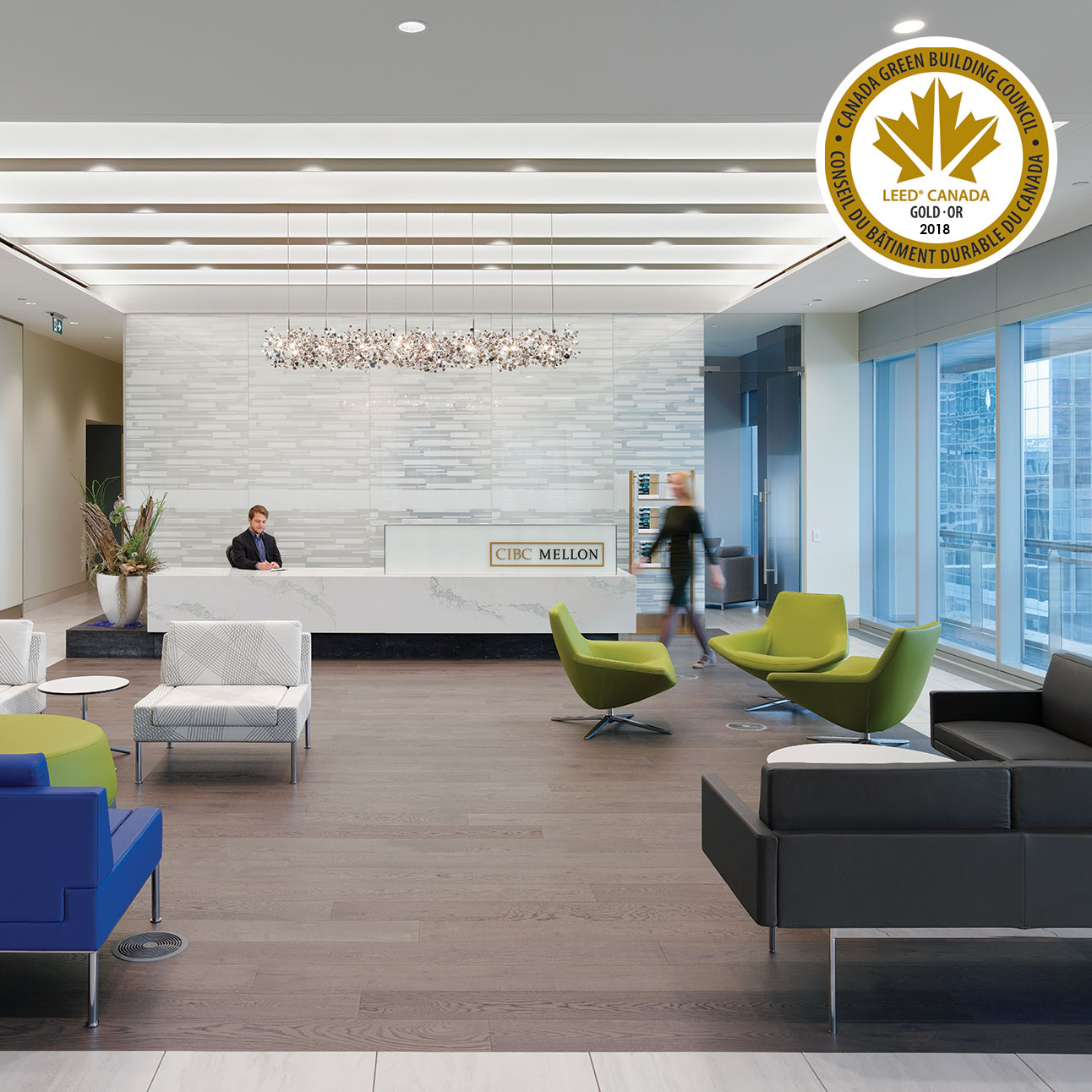 CIBC Mellon 1 York Street Receives LEED Gold Certification
